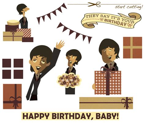 happy birthday images with the beatles linnica a 3d beatles birthday card