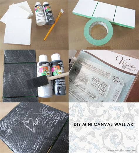 acrylic paint diy wall make your own canvas using acrylic paint and sts
