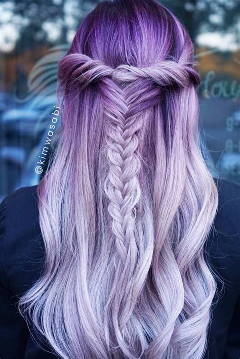 25 best ideas about light purple hair on