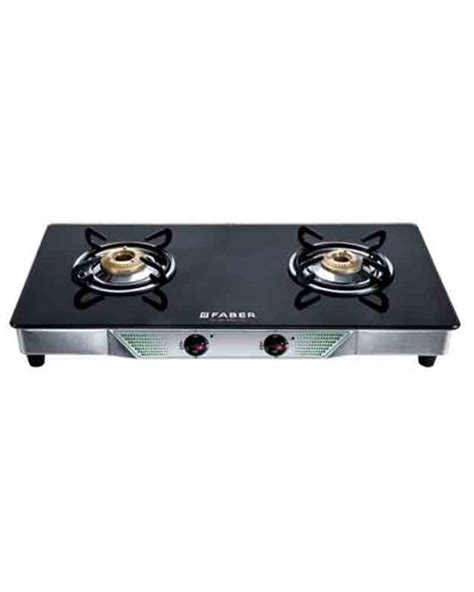 Two Burner Gas Cooktop Buy Faber 2 Burner Cooktop Gas Stove Crystal20ctai