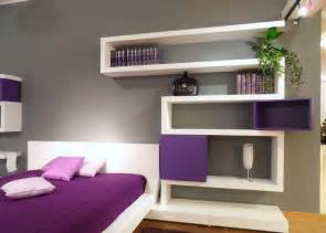 modern bedroom design with wall shelves digsdigs