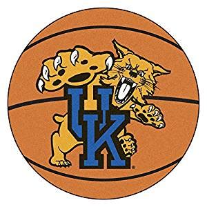 uk wildcats basketball m amazon com fanmats kentucky wildcats basketball shaped