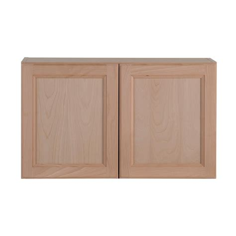 assembled 36x30x12 in wall kitchen cabinet in unfinished cabinet doors home depot unfinished imanisr com