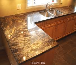 Granite Kitchen Backsplash by Granite Countertops No Backsplash