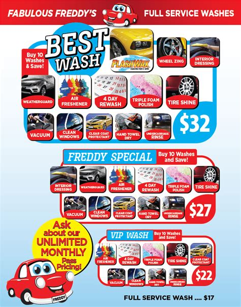 boat car wash near me get a fabulous car wash fabulous freddy s 702 933 5374