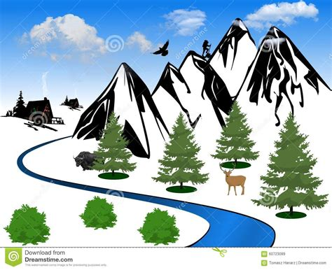 mountain clipart mountain valley clipart clipartsgram