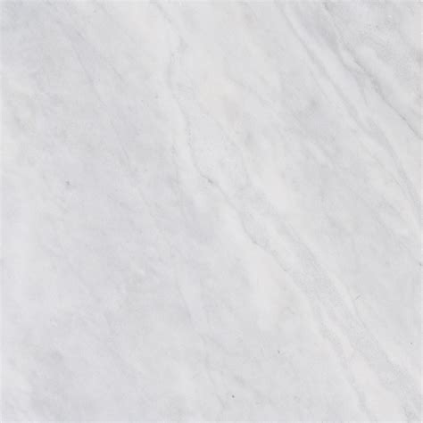 shop bermar arctic white polished marble floor and wall tile common 24 in x 24