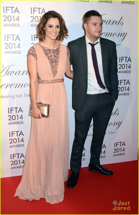 jack reynor television jack reynor ifta awards with fiancee madeline mulqueen