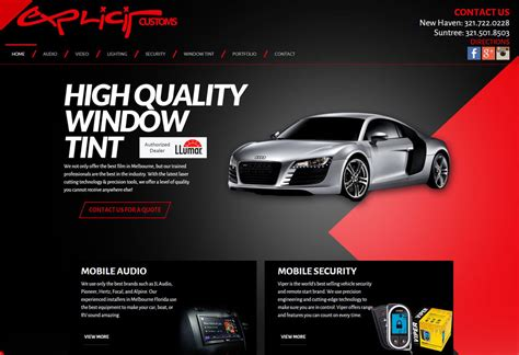 Window Tint Car Stereo Alarm Radar In Melbourne Flexplicit Customs Window Tint Templates