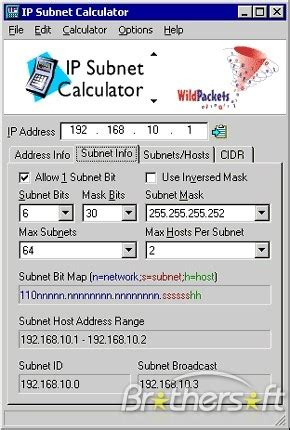 calculator ip subnet mask calculator