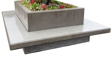 precast benches architectural landscaping precst concrete products