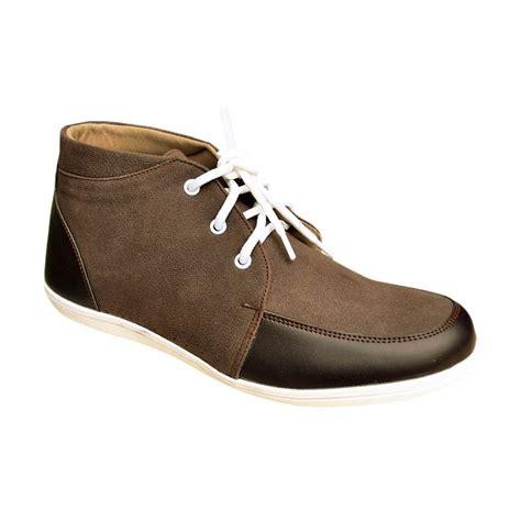 Sepatu Boot Casual Priacowok Brand Vans Tinggi jual s decka rk 04k sepatu casual pria kopi