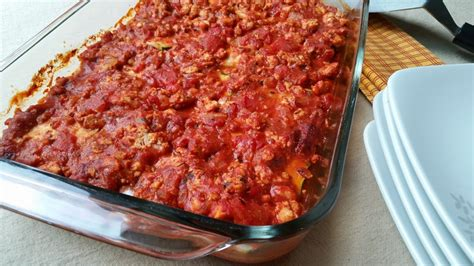 chicken zucchini lasagna grain free dairy free the