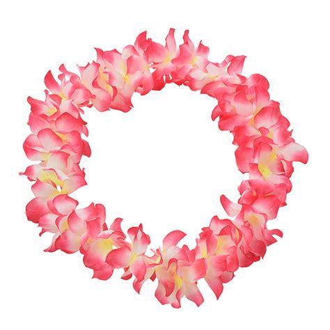 decorative flowers artificial flowers false flower necklace hawaii beach