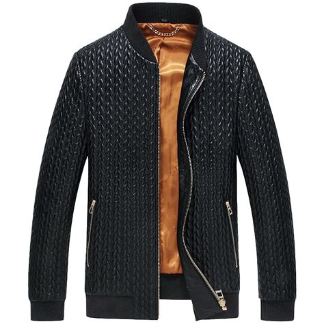Mens Quilted Leather Jacket by Cwmalls 174 S Quilted Leather Jacket Cw806010
