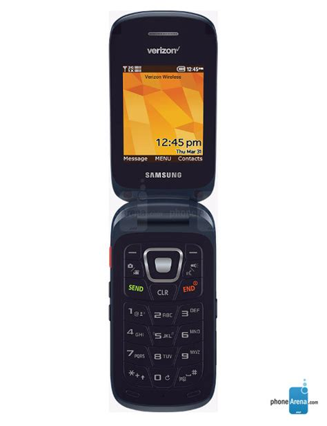 Rugged Flip Phone Samsung Convoy 4 Specs