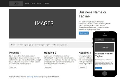 basic templates for bootstrap 009 free basic bootstrap theme zerotheme