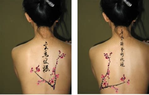oriental tattoo quotes blossom tattoo chinese japanese flower designs 12
