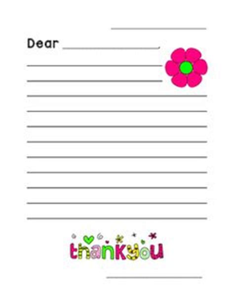 Thank You Letter Template Grade 2 Friendly Letter Template 1st Grade Language Arts Ideas Friendly Letter Letter