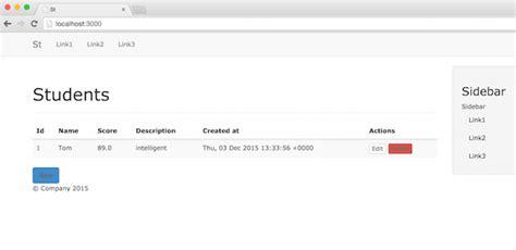 bootstrap layout gem ruby rails中使用bootstrap 下面代码 csdn博客