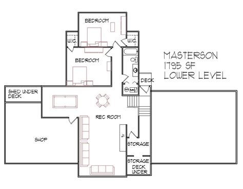 Split Level Home Floor Plans Split Level House Floor Plans Designs Bi Level 1300 Sq Ft 3 Bedroom