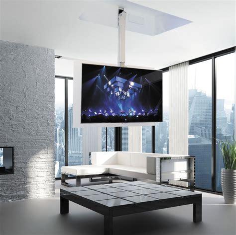 soportes para tv de techo soporte para tv de techo moderno con mando a distancia