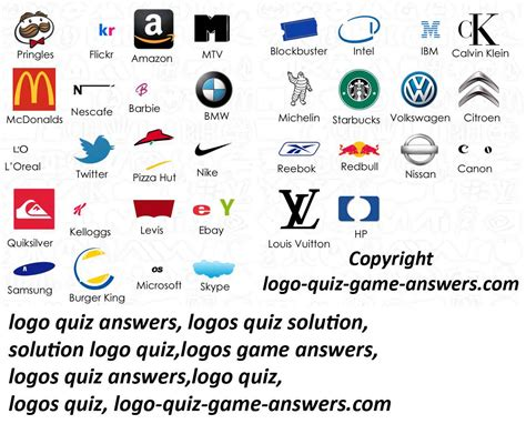 logo design quiz answers logo quiz pack 2 answers joy studio design gallery