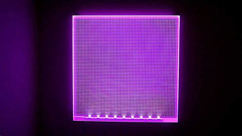Lu Led Panel Light rgb led light panels colour changing demonstration