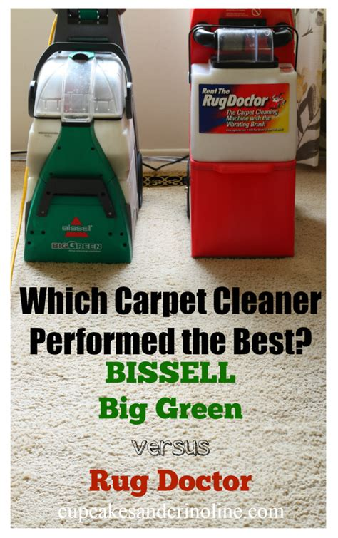 Cleaning Solution For Rug Doctor by Bissell Big Green Versus Rug Doctor Home With Cupcakes