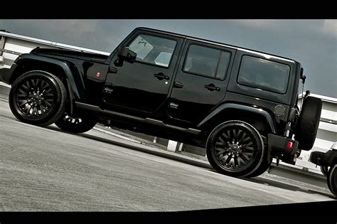 Jeep Wrangler With Black Rims Photos Jeep Wrangler Jk Mk3 Kahn 2014 From Article Always