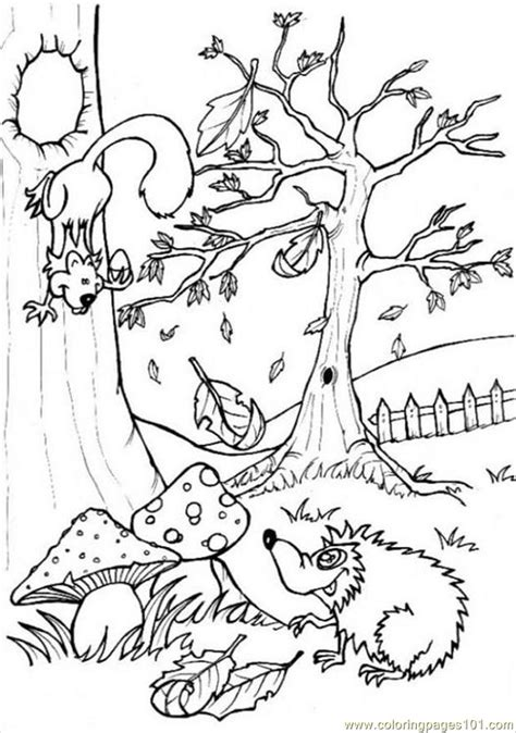 coloring pages ures pages photo forest p6444 natural