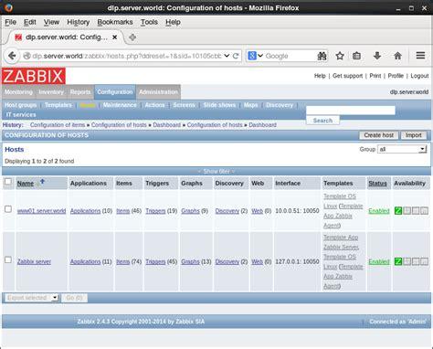 tutorial zabbix ubuntu server ubuntu 14 04 lts zabbix add monitoring item server world