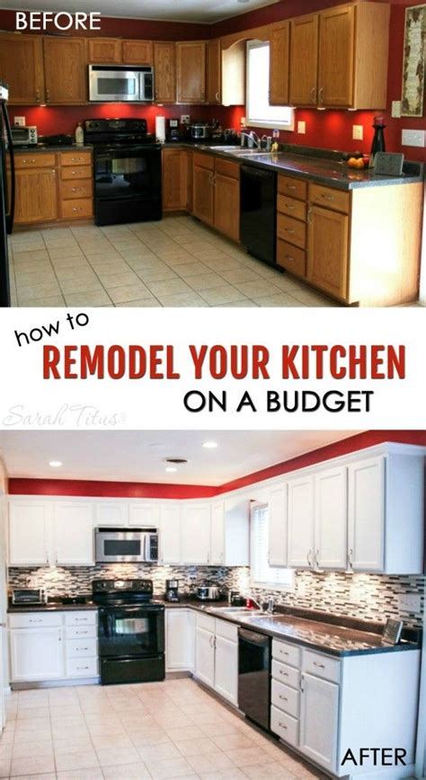 redesign your kitchen how to remodel your kitchen on a budget renovaciones de