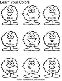 color worksheets coloring pages learn your colors preschool worksheet