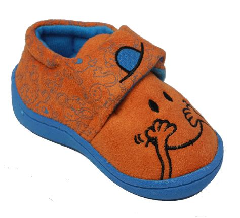 toddler velcro slippers boys childs toddlers mr tickle
