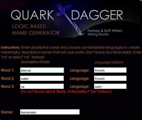 fantasy film name generator logic based name generator for fantasy writers world