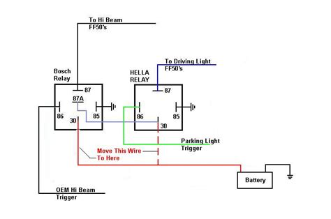 wiring diagram with relay 25 wiring diagram images