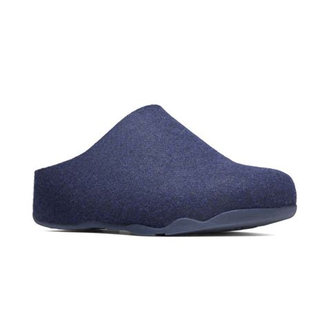 slippers heels fitflop shuv supernavy fabric slipper fitflop from