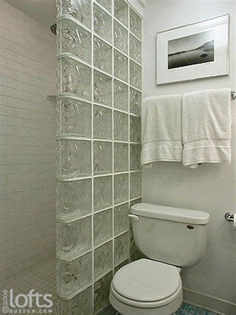 glass cubes for bathroom 25 best ideas about glass block shower on pinterest