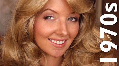 make up for women in their 70 historically accurate 1970s makeup farrah fawcett