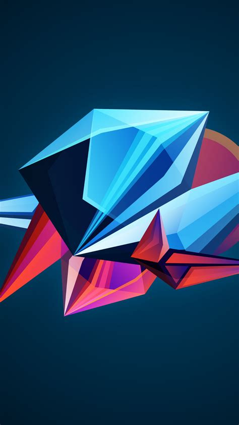 wallpaper abstract  shapes