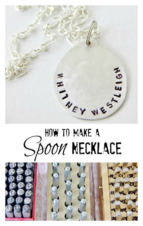 spoon jewelry how to make spoon necklace thistlewood farm
