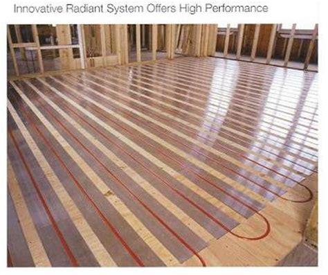 Water Heated Floors by Radiant Floor Heat Home Energy Savings Radiant Floor