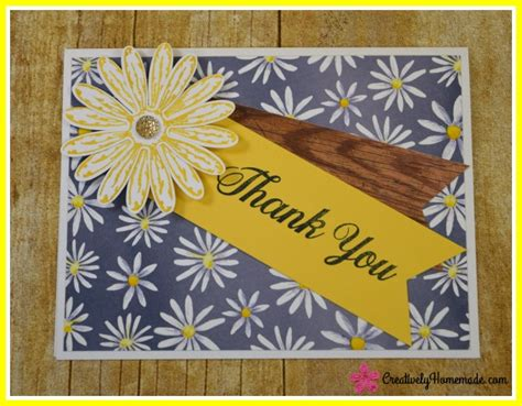 Easy Handmade Thank You Cards - and easy handmade thank you cards creatively