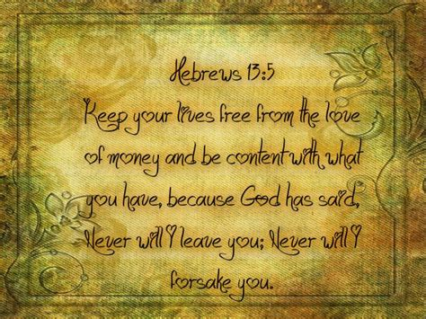 Bible Quotes About The Of Money by Bible Quotes On Money Quotesgram