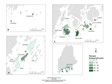 Maine Office Of Gis by The State Of Maine Islands State Of Maine S Environment 2014