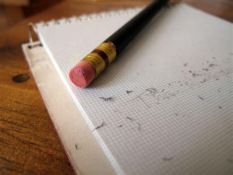 how to erase pen writing from paper pencil eraser paper pad christo de klerk flickr