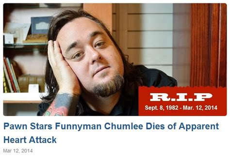 Pawn Stars Actor Dies | chumlee dies
