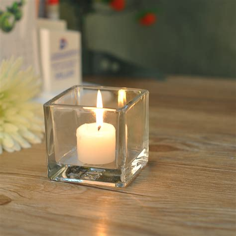 home decor candle holders home decor square glass candle holders on okcandle com