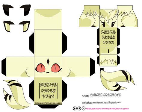 Origami Papercraft - papercrafts origami inuyasha cubeecraft
